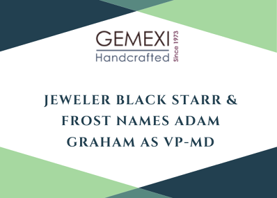 Jeweler Black Starr & Frost Names Adam Graham as VP-MD
