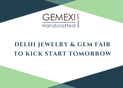 Delhi Jewelry & Gem Fair to Kick Start Tomorrow
