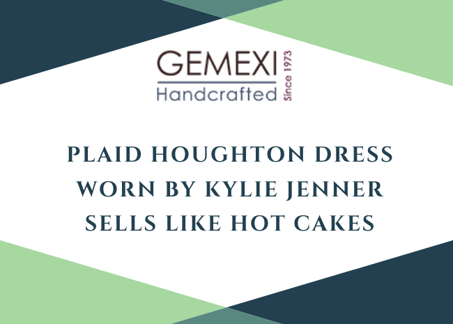 Plaid Houghton Dress Worn By Kylie Jenner Sells Like Hot Cakes