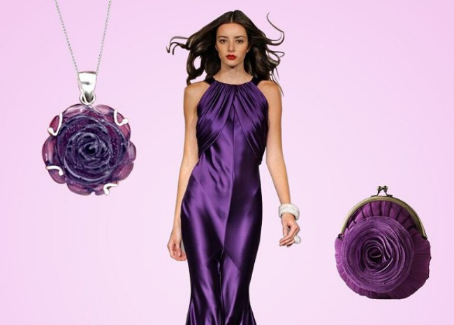 4 Amethyst Looks that you should try to make The Heads Turn