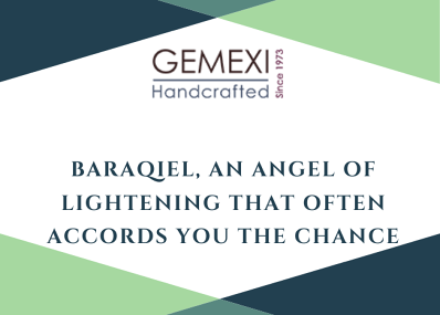 Baraqiel, an angel of lightening that often accords you the chance