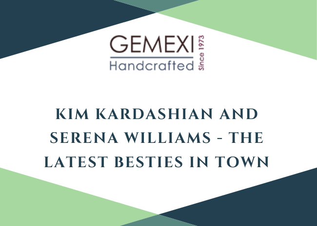 Kim Kardashian and Serena Williams - The Latest Besties in Town