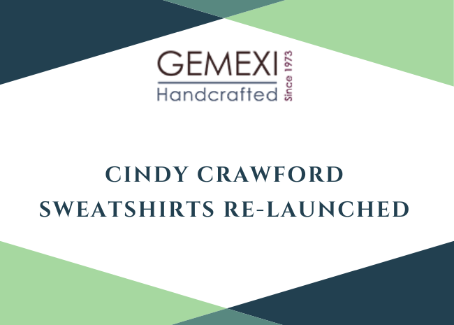 Cindy Crawford Sweatshirts Re-Launched