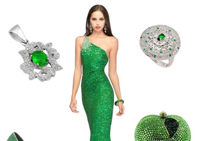 4 Damn Hot Emerald Look, You can't resist Trying!