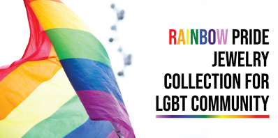Rainbow Pride Jewelry Collection for LGBT Community