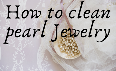 How to clean pearl jewelry?