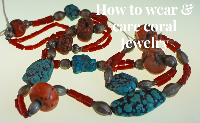 How to wear & care coral jewelry?