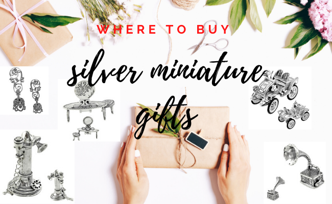 Where to buy silver miniature gifts