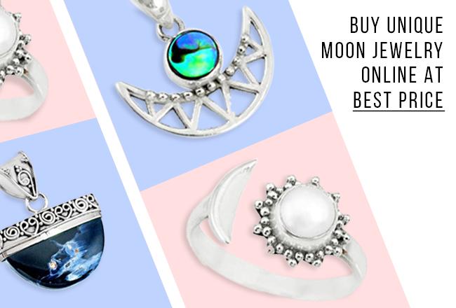 Buy Unique Moon Jewelry Online At Best Price