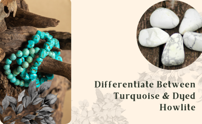 How to differentiate between Turquoise and dyed Howlite