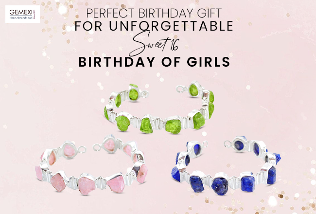 Perfect Birthday Gift for Unforgettable Sweet 16 Birthday of Girls