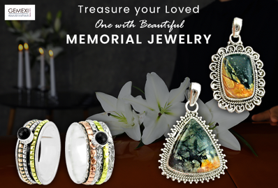 Treasure your Loved One with Beautiful Memorial Jewelry