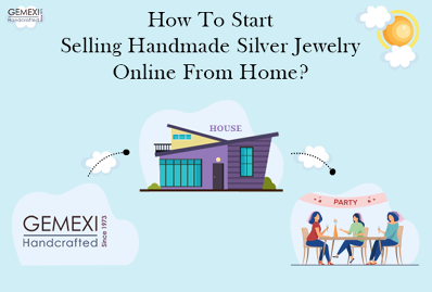 How To Start Selling Handmade Silver Jewelry Online From Home