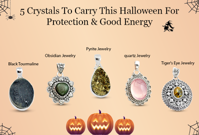 5 Crystals To Carry This Halloween For Protection & Good Energy
