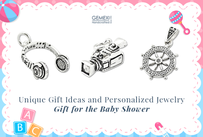 Unique Gift Ideas and Personalized Jewelry Gift for the Baby Shower