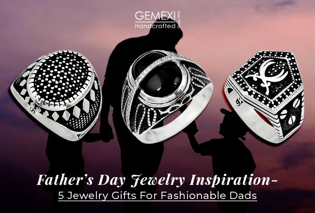 Fathers Day Jewelry Inspiration - 5 Jewelry Gifts For Fashionable Dad