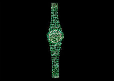 Backes & Strauss Unveils Million Dollar Emerald Green Watch