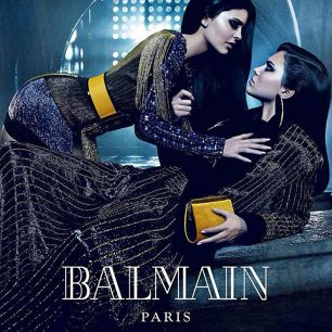 Balmain Puts a Sisterly Act - Get Star Siblings to Shoot For Its New Campaign