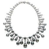 Black is the New White in the Year 2015, the Finest Tahitian Pearl Bling of the Year