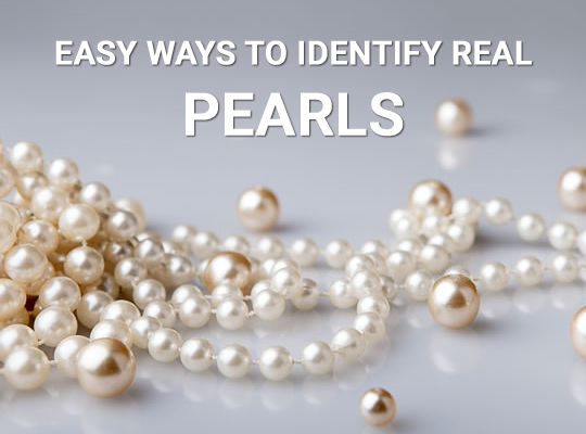 Easy Ways To Identify Real Pearls