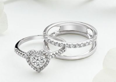Exclusive Diamond Silhouette Ring Design Launched
