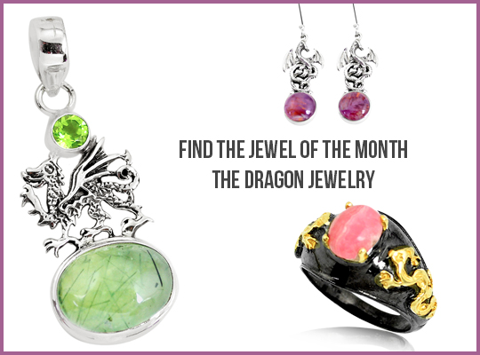 Find The Jewel Of The Month - The Dragon Jewelry