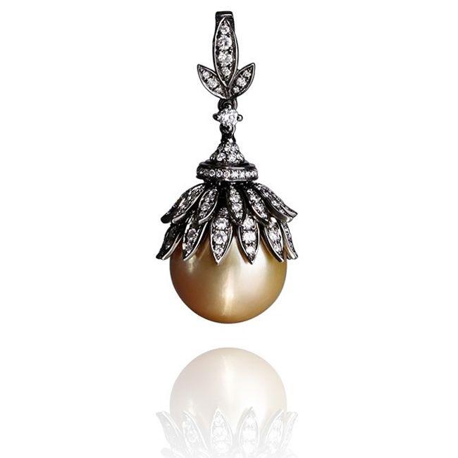 Annoushka Golden Pearls Pendant