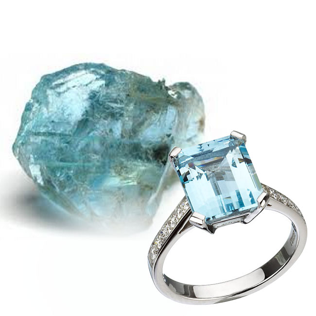 aquamarine gemstone healing