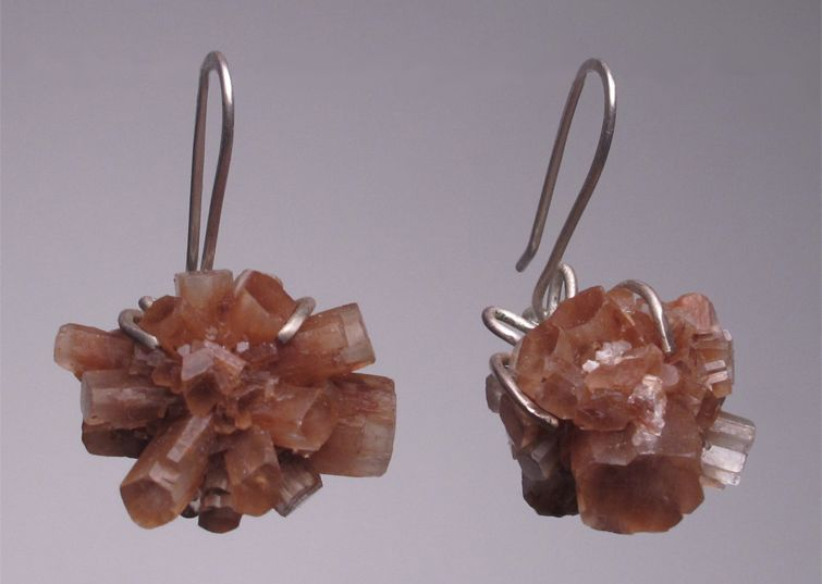 aragonite earrings
