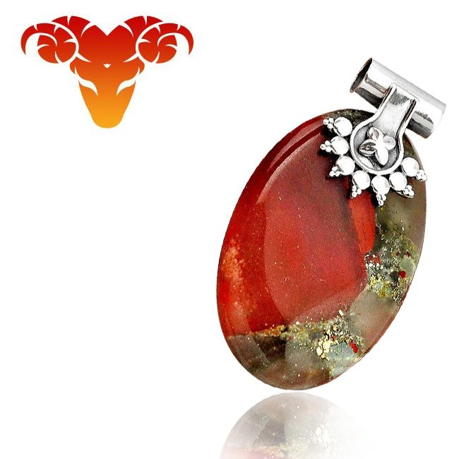 aries zodiac birthstone bloodstone