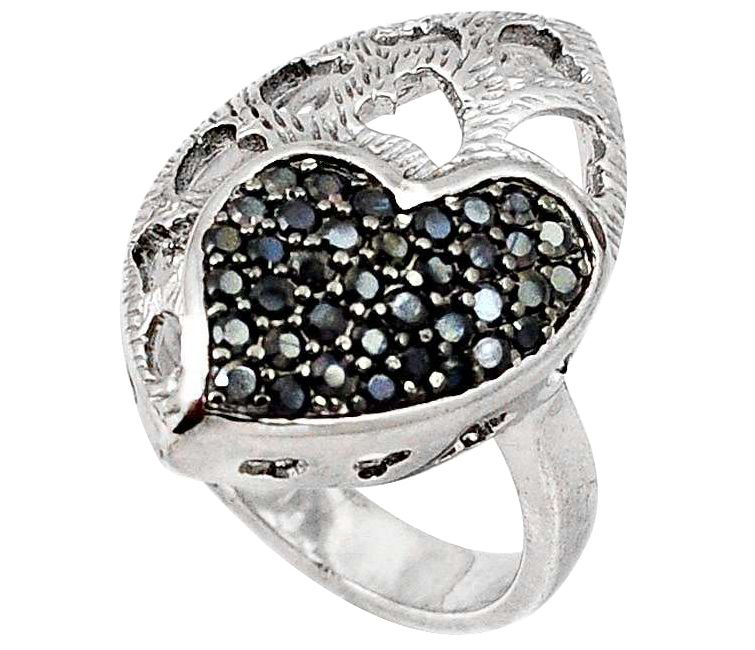 black topaz ring