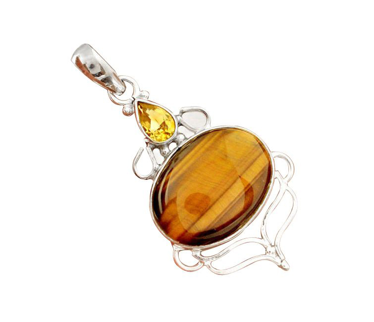 brown tigers eye citrine