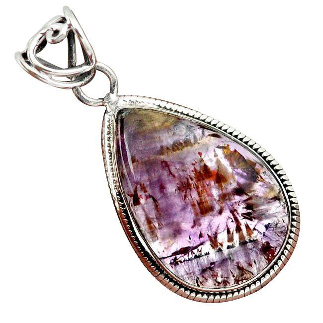 cacoxenite pendant