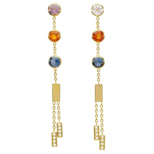 chaumet abc earrings