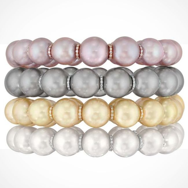 coco chanel perles swing collection pearl bracelet
