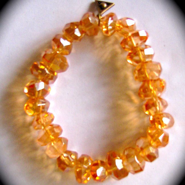 golden aura quartz beads