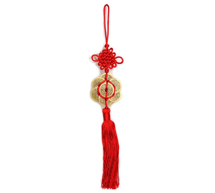 hanging and tassle