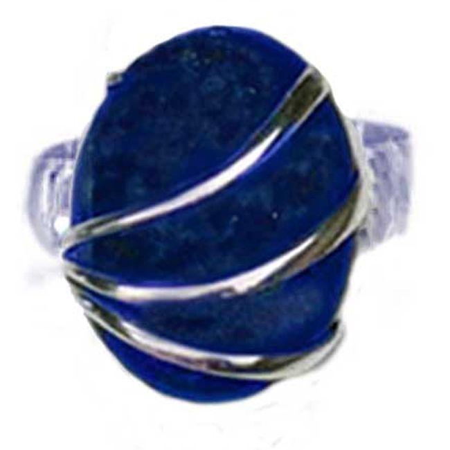 lapis lazuli oval ring