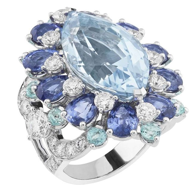 magical peau d'Ã'ne collections aquamarine ring