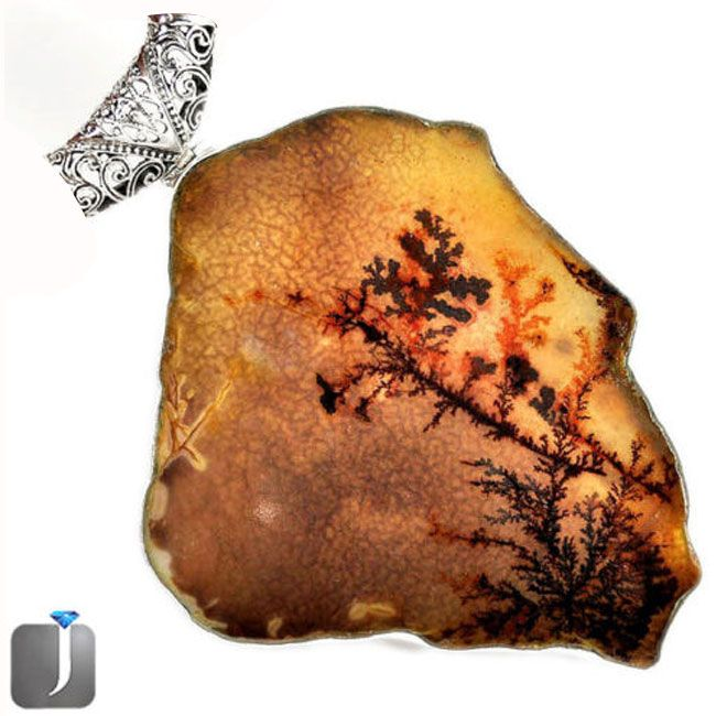 museum grade gemstone scenic russian dendritic agate