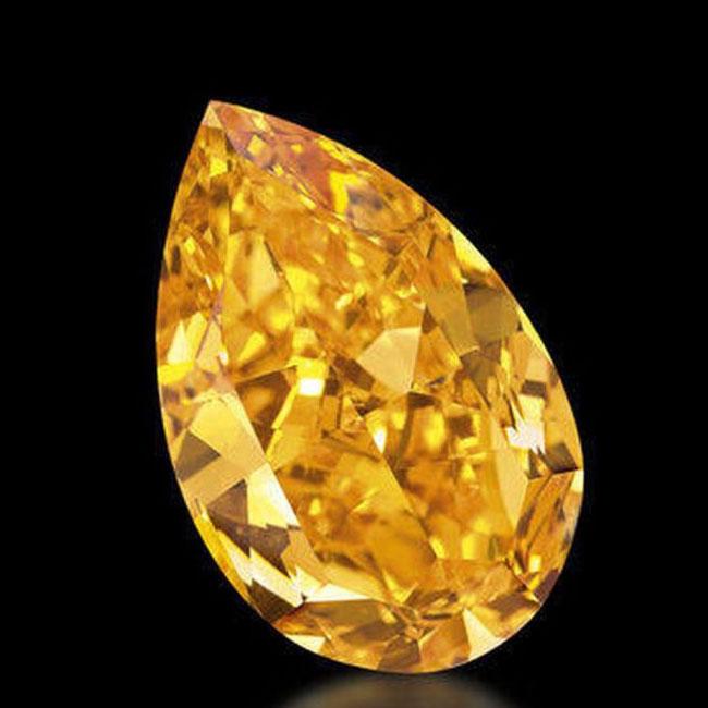 orange yellow diamond quality gemstones