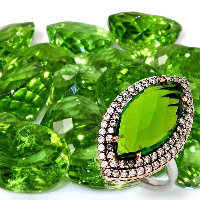 peridot gemstone healing
