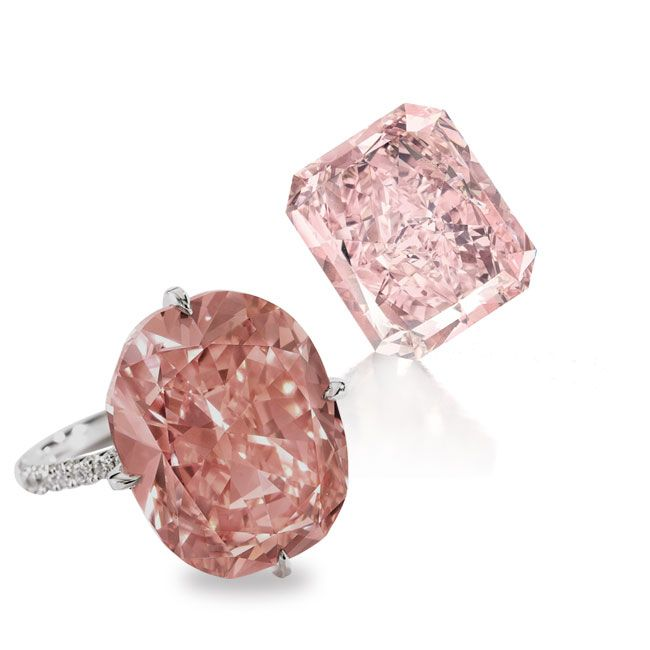 pink star diamond gemstone