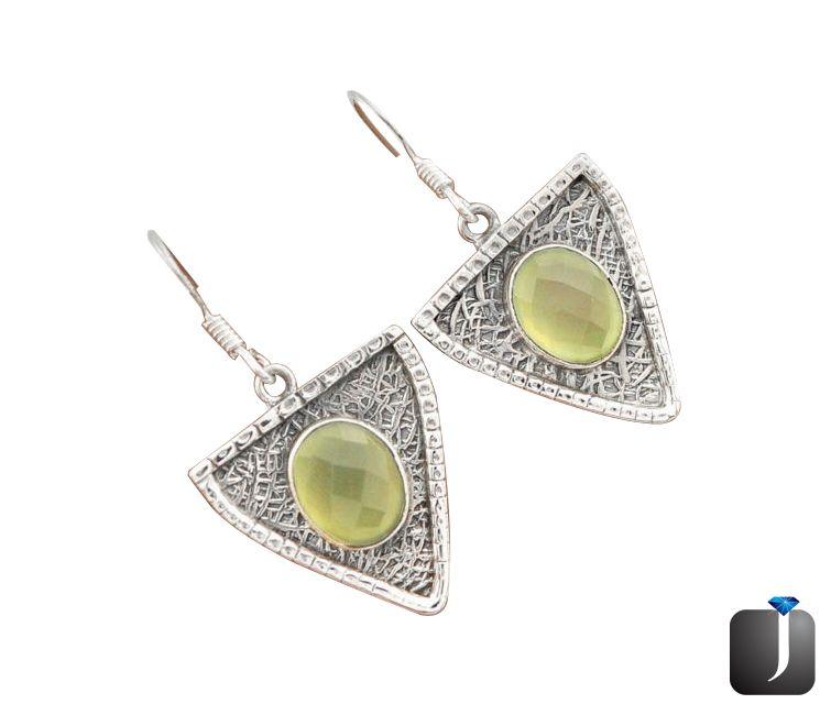 prehnite dangle earring jewelry