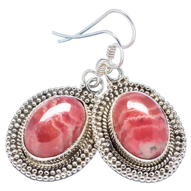 rhodochrosite earrings
