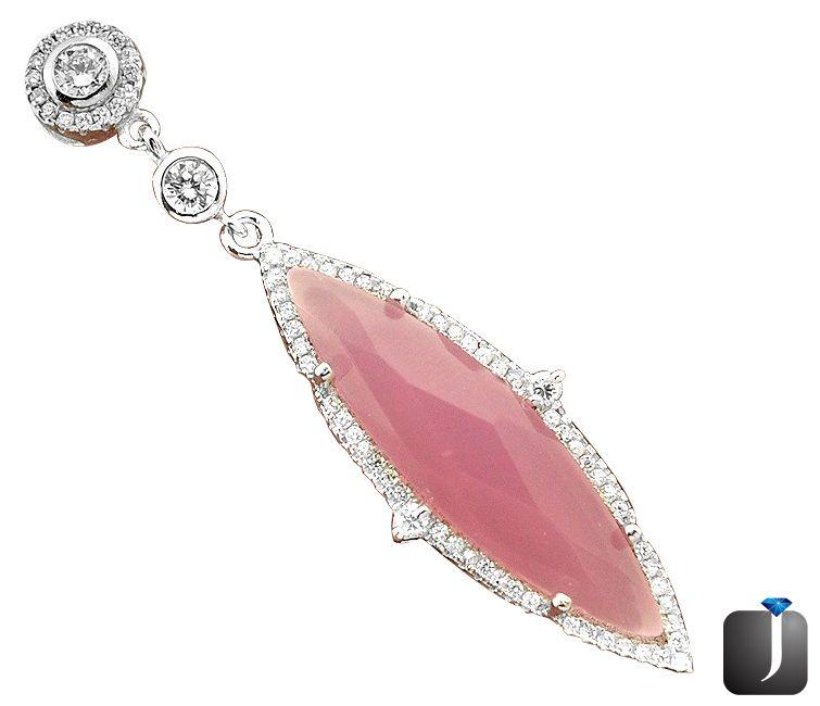 rosy quartz pendant