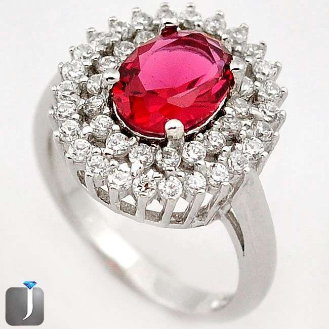 ruby quartz ring