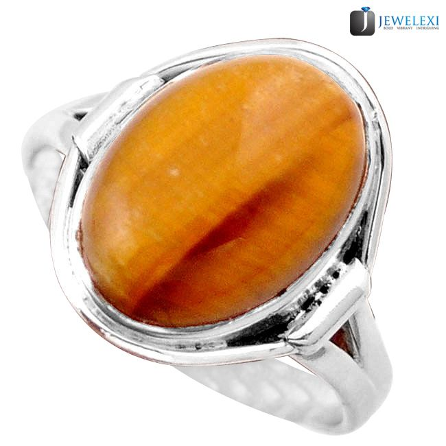 tigers eye ring
