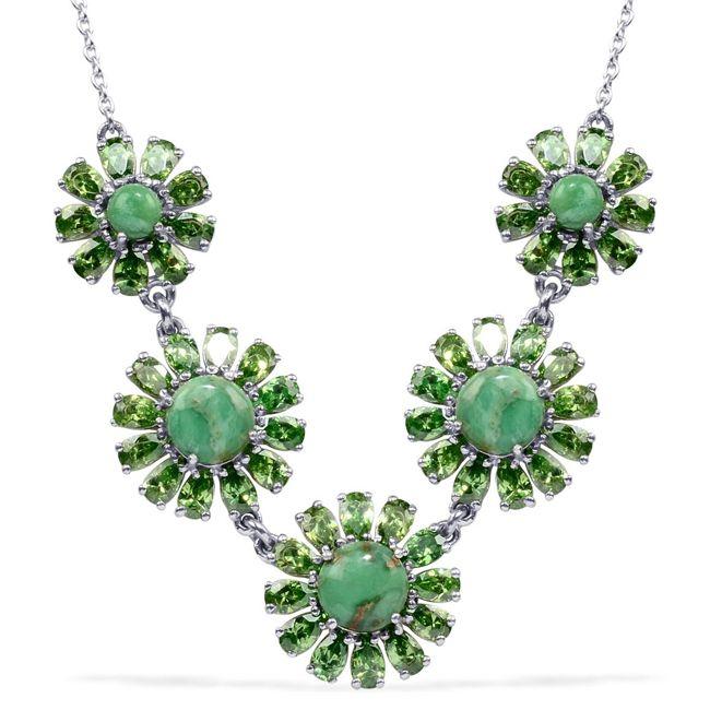variscite jewelry utah variscite rnd necklace