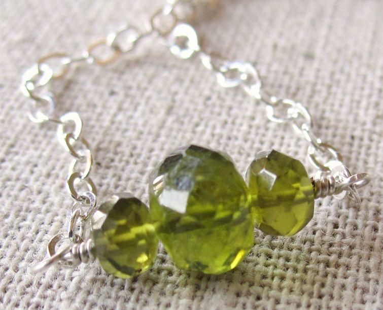 vesuvianite bracelet